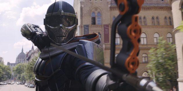 Кадр из фильма «Чёрная вдова»