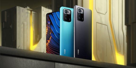 Xiaomi представила Poco X3 GT — международную версию Redmi Note 10 Pro 5G