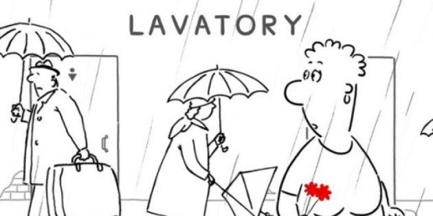 Лучшие российские мультфильмы: «Уборная история — любовная история»