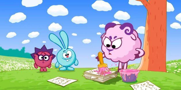 Лучшие российские мультфильмы: «Смешарики»
