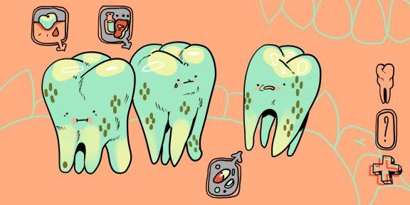 В тёмных пятнах на зубах не виновата плохая гигиена. Вот откуда берётся налёт Пристли и как от него избавиться