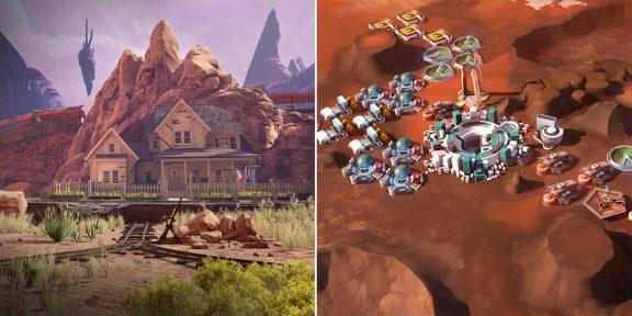 Просто космос: Epic Games Store раздаёт Obduction и Offworld Trading Company