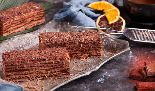 Потрясающий торт «Микадо»