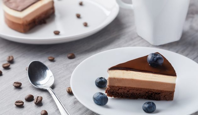 Бесподобный торт «Три шоколада»