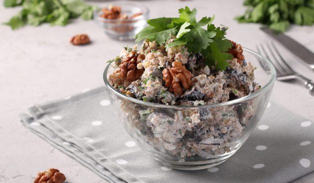 Салат из баклажанов по-грузински