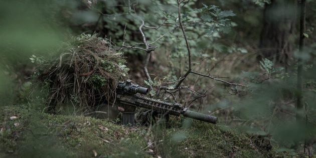Снайперы стреляют не бесшумно
