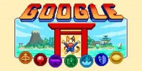 Google запустила серию мини-игр в честь открытия Олимпийских игр в Токио