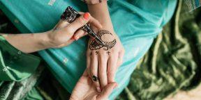 14 простых рисунков хной, которые сделают руки ещё красивее