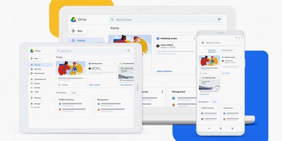 Google запускает новый клиент «Диска» для Windows и macOS