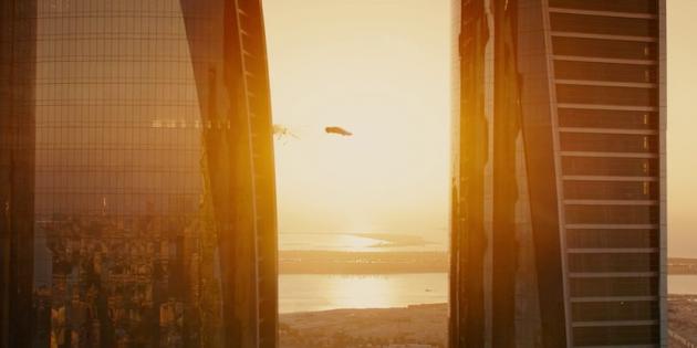 Трюки из фильма «Форсаж-7»