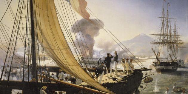 6самых глупых войн в истории: бомбардировка крепости Сан-Хуан-де-Улуа.
