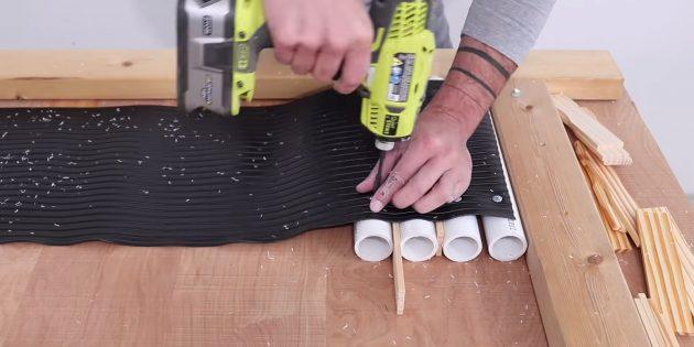 Как сделать вазон из бетона в гибкой форме из трубок своими руками: начните собирать трубки
