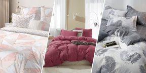 10 комплектов качественного постельного белья с AliExpress