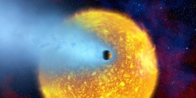 Странные астрономические объекты: обнажённый гигант