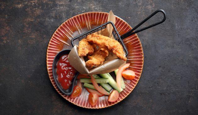 Сочное куриное филе в хрустящей панировке