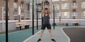16 лучших упражнений с гирями, которые сделают вас сильнее и выносливее