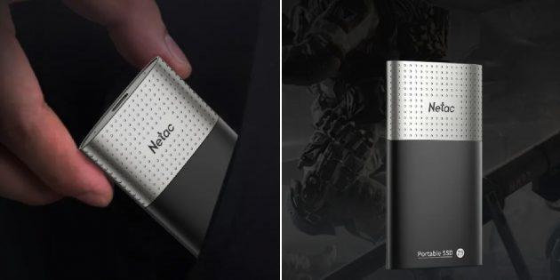 Внешний SSD Netac Z9