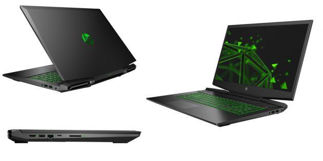 Ноутбук HP Pavilion Gaming Laptop 17-cd1048ur