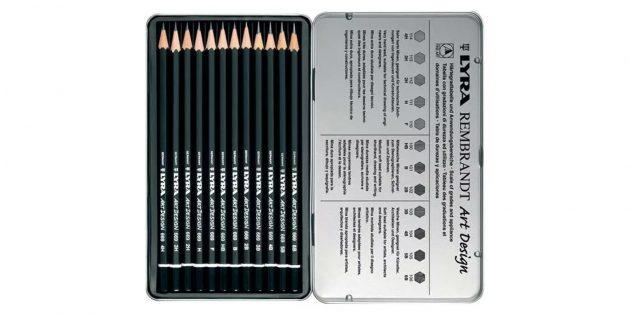 Чернографитные карандаши Lyra