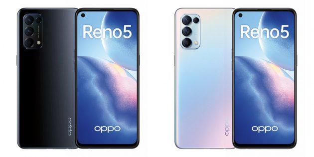 Смартфон OppoReno 5