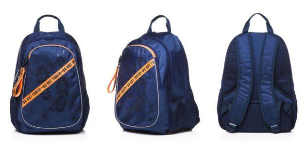 Вместительный школьный рюкзак