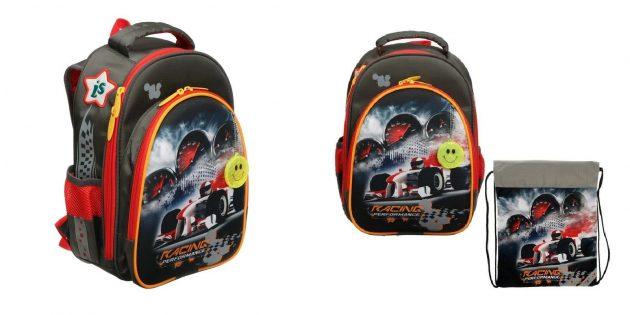 Школьный рюкзак с мешком для обуви