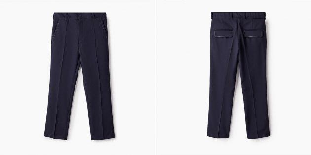 Школьная форма: классические брюки для мальчиков