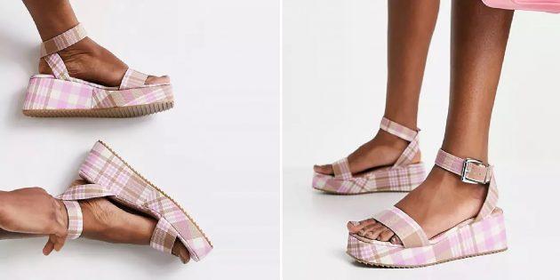 Летняя обувь: женские сандалии на платформе