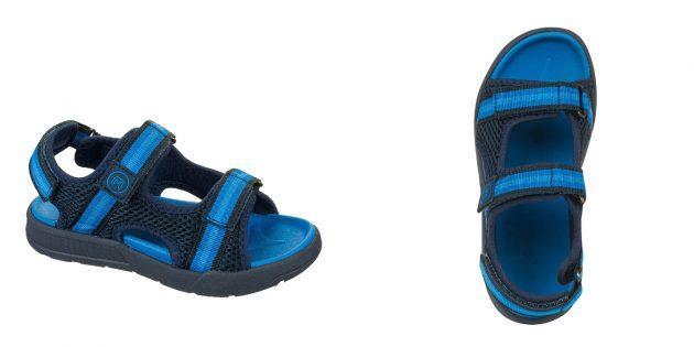 Летняя обувь: сетчатые сандалии для мальчиков