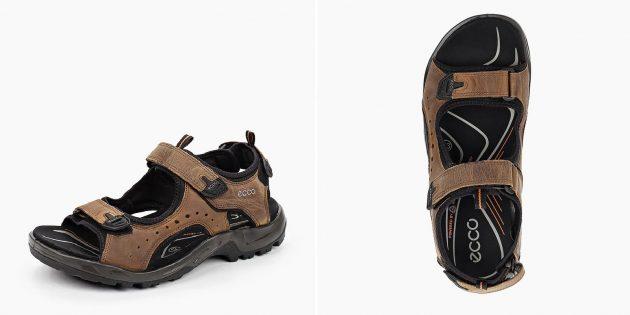 Летняя обувь: мужские сандалии в спортивном стиле