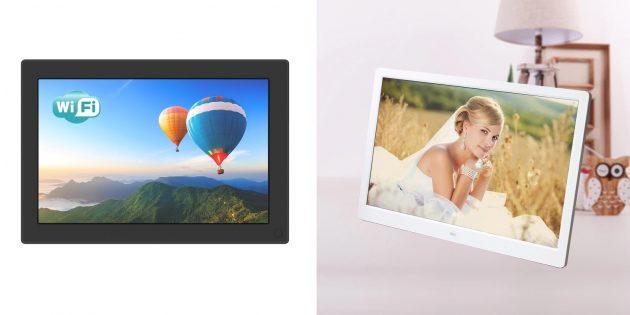 Что подарить мужу на годовщину свадьбы: цифровая фоторамка