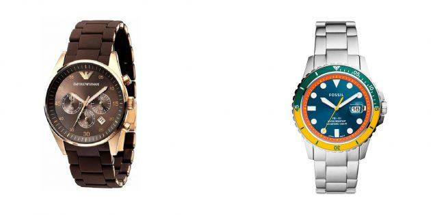 Что подарить мужу на годовщину свадьбы: наручные часы