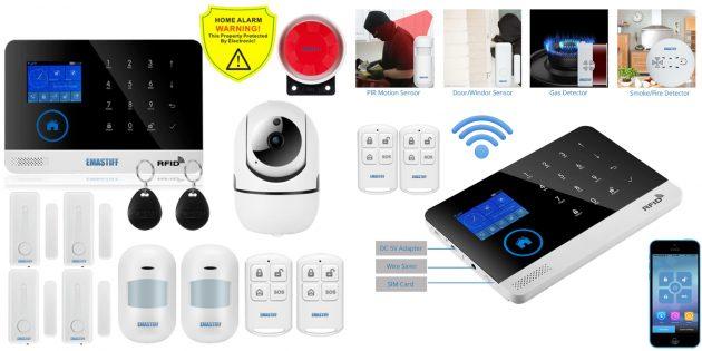 Умные сигнализации для дома: eMastiff W2B