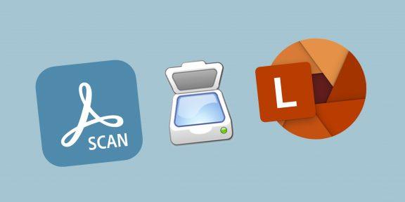 6 бесплатных программ для сканирования документов