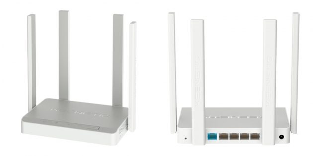 Wi-Fi-роутеры для дома: Keenetic Speedster