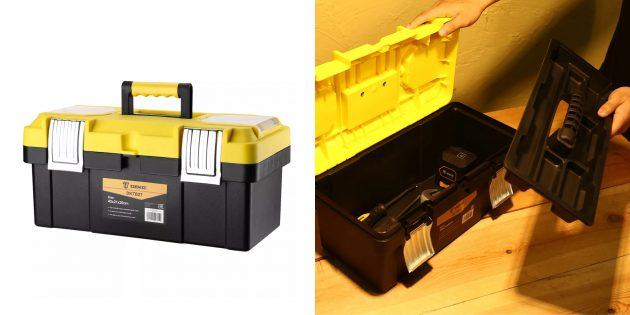 Товары для наведения порядка в гараже: Ящик для инструментов