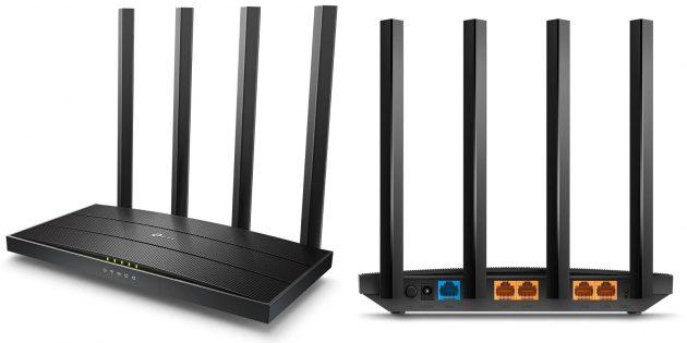 Wi-Fi-роутеры для дома: TP-Link Archer C80