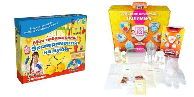 Что подарить ребёнку на 1Сентября: набор для научных экспериментов