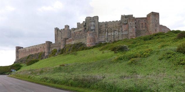 Мифы о средневековых замках: замок Бамборо, Нортумберленд, Англия