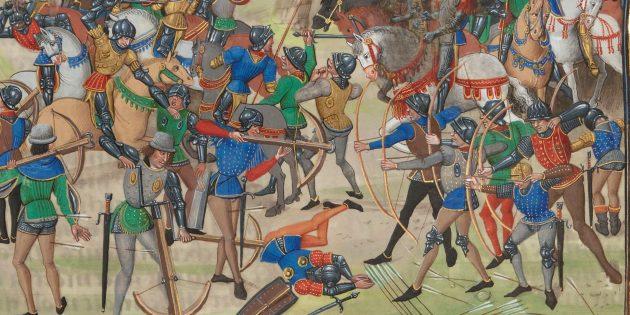 Мифы о средневековых сражениях: битва при Креси