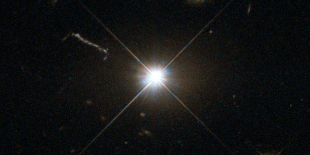 Странные астрономические объекты: межгалактический маяк