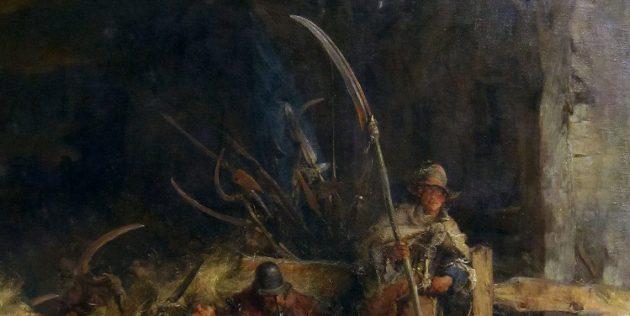Мифы о средневековых сражениях: боевая коса