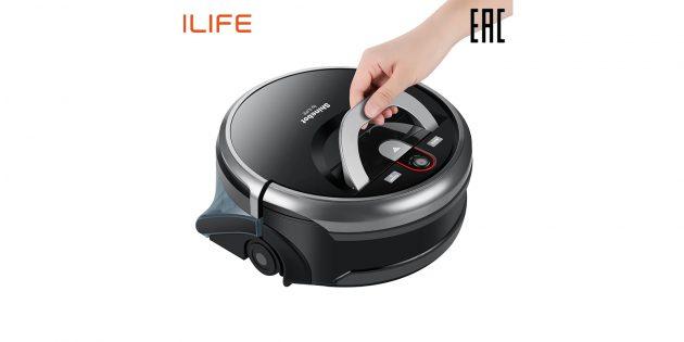 «Неделя подарков»: робот-пылесос ILIFE W450