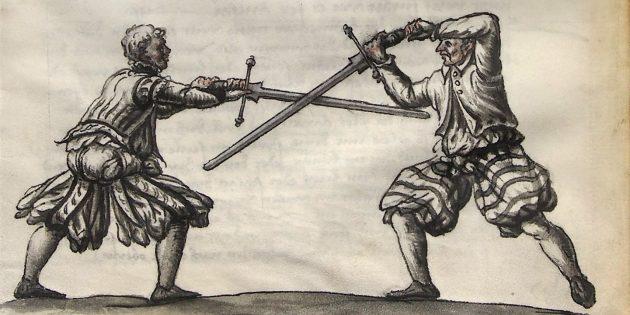 Мифы о средневековых сражениях: поединок на двуручных мечах