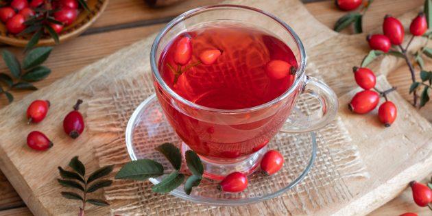 В каких продуктах содержится витамин С: шиповник