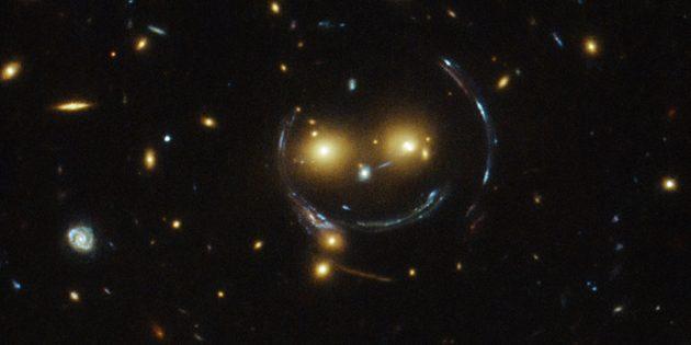 Странные астрономические объекты: улыбка без кота