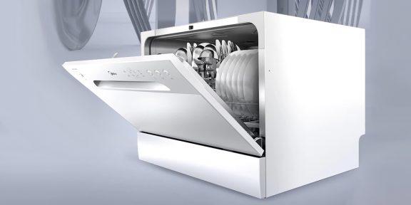 Выгодно: компактная посудомоечная машина Midea за 11 990 рублей