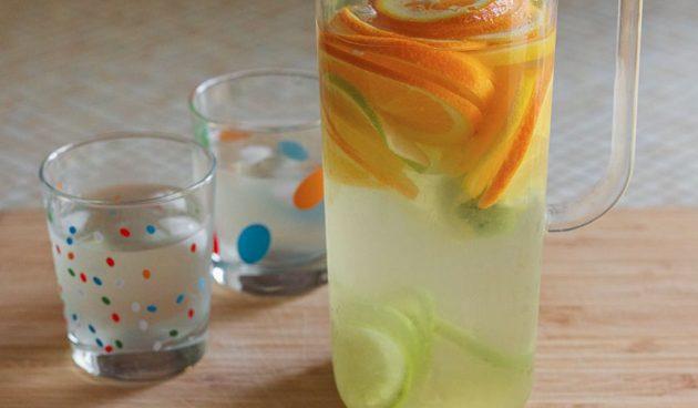 Быстрый цитрусовый лимонад