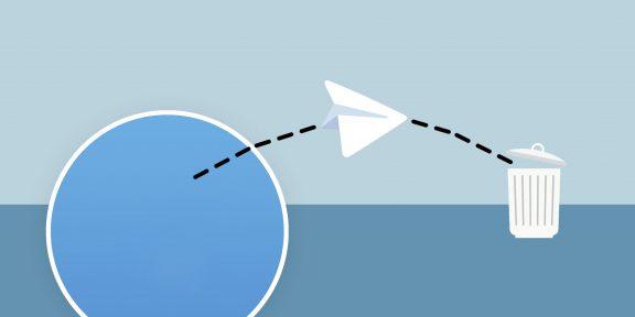 Как удалить контакт в Telegram