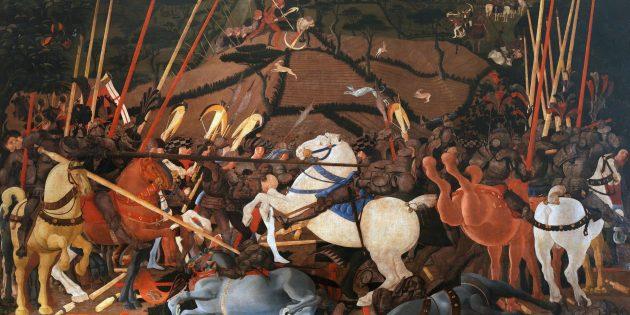Мифы о средневековых сражениях: битва при Сан-Романо
